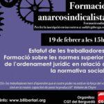Formació anarcosindicalista CGT Berguedà