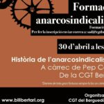 Formació anarcosindicalista CGT Berga 30 abril 2021