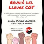 Reunió Lleure CGT