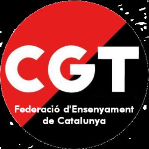CGT Federació d'Ensenyament de Catalunya logo
